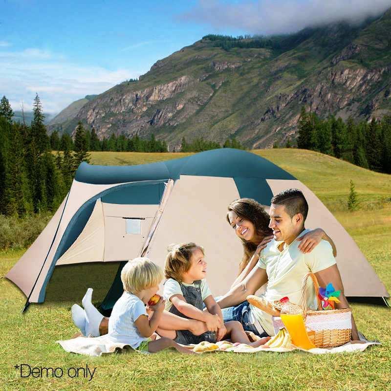 Палатка туристическая пятиместная Bestway 68015 Hogan (200+305) х 305х200 см