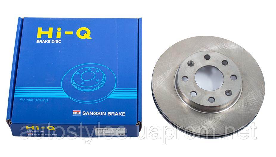 Диск тормозной HYUNDAI TRAJET XG 00- задний (пр-во SANGSIN), SD1052