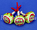 Леденец - жевательная резинка Jake Strawberry Super Gum, фото 3