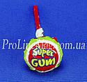 Леденец - жевательная резинка Jake Strawberry Super Gum, фото 4