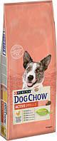 Сухой корм для взрослых активных собак со вкусом курицы Purina Dog Chow Active Adult 14 кг