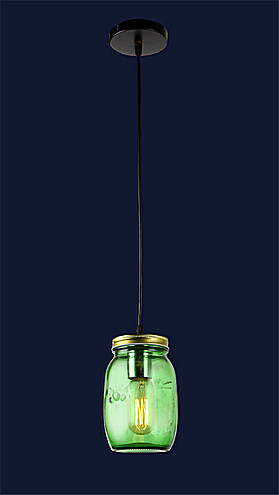 Люстра подвесная Levistella 758865-1 GREEN