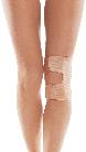 Бандаж коленного сустава с открытой чашечкой тип 513 бежевый