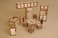 Мебель для куклы, набор -кухня