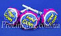 Леденец - жевательная резинка Jake Raspberry Super Gum, фото 3