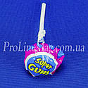 Леденец - жевательная резинка Jake Raspberry Super Gum, фото 4