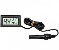 Цифровий термометр, гігрометр WSD-12 / FY 12 з виносним датчиком
