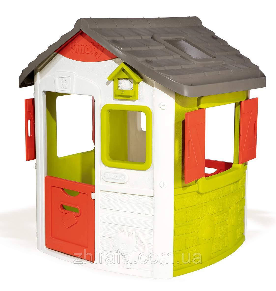 Smoby Игровой Домик лесника со ставнями Neo Jura Lodge 810500