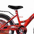 Дитячий велосипед Mustang Тачки 20 дюймів синьо-червоний, фото 4