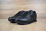 Мужские кроссовки в стиле Reebok Classic, черные, фото 2