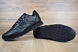 Мужские кроссовки в стиле Reebok Classic, черные, фото 3