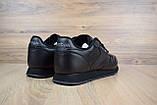 Мужские кроссовки в стиле Reebok Classic, черные, фото 6