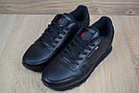 Мужские кроссовки в стиле Reebok Classic, черные, фото 5