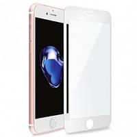 Защитное стекло для iPhone 8 Plus 5D white