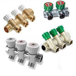 Коллекторы для систем отопления и водоснабжения