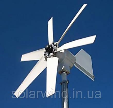 багатолопатевий вітрогенератор