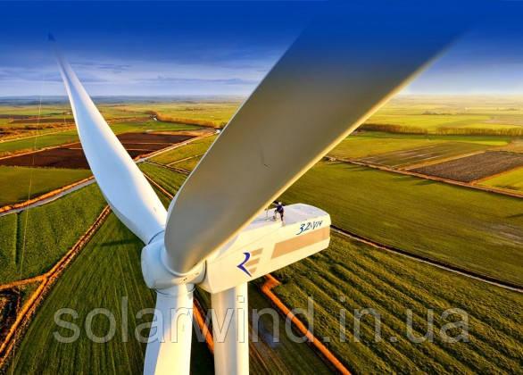 трьохлопатеві вітрогенератори