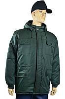 Куртка  рабочая утеплённая с капюшоном