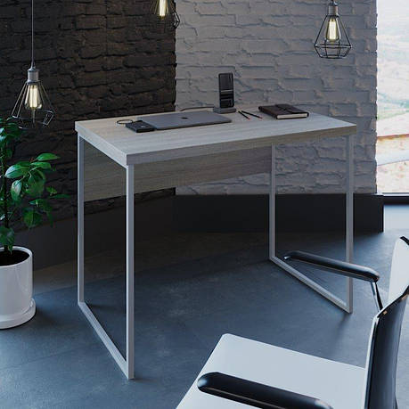 Письменный стол лофт (Вега 2 белый), фото 2