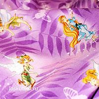 12007 Долина Фей. Детская ткань для пэчворка, скрапбукинга, декорирования и аппликаций.