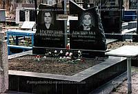 Памятник  с воздушным крестом № 48