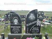 Надгробие с цветами № 49