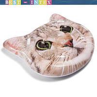 58784 Intex Надувной Плотик «Кот»,  147x135 см, фото 1