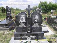 Двойное  надгробие из гранита № 52