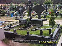 Двойное надгробие из гранита № 53