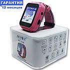 Детские водонепроницаемые GPS часы MYOX МХ-16GW розовые (камера+фонарик), фото 2