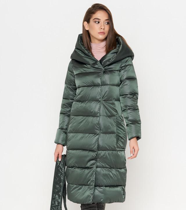 Tiger Force 8889 | Женская зимняя куртка зеленая