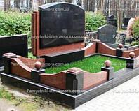 Двойное надгробие из гранита № 61