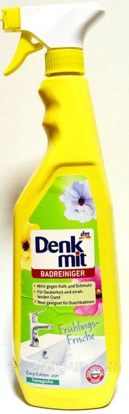 Чистящее средство для акрила и керамики  в ванной  Denkmit Badreiniger  1000 мл.