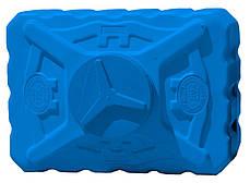 Емкость пластиковая квадратная 200 л трёхслойная синяя, фото 3