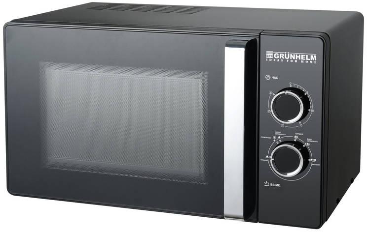Микроволновая печь Grunhelm 23MX88-LB (черная), фото 2