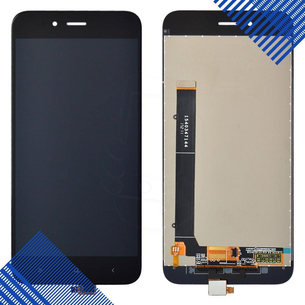 Дисплей Xiaomi Mi A1, Mi 5X с тачскрином в сборе, цвет черный, уценка