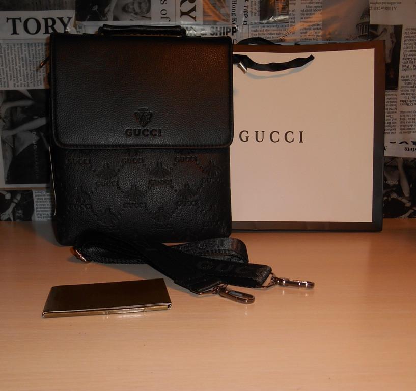 c020b9a4b083 Купить сейчас - Сумка мужская, барсетка, портфель Гуччи Gucci, кожа ...