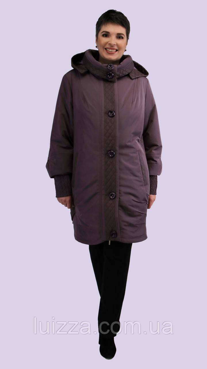 Женская демисезонная куртка 62-72р