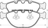 Передние тормозные колодки на BMW X5 (E53) BOSCH 0986494217