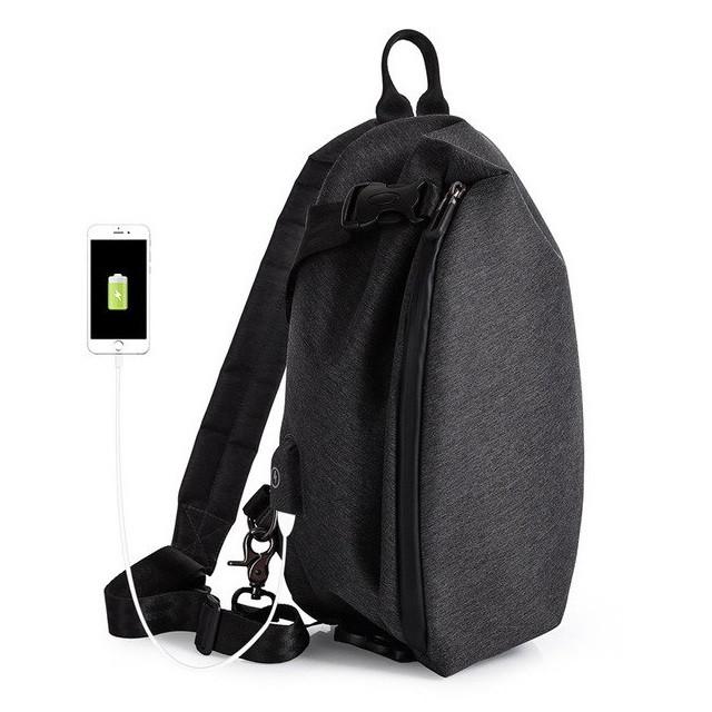 Модный однолямочный рюкзак через плечо Tangcool TC902, влагозащищённый, 5л