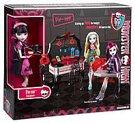 Набор  с куклой Монстер Хай  Кафе  Дракулауры. Monster High Die-Ner and Draculaura Playset