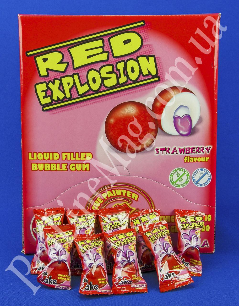 Жевательная резинка Jake Red Explosion Bubble Gum