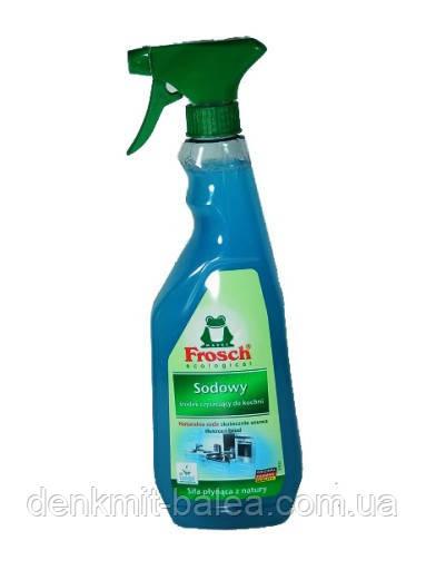 Средство против жира и сильных загрязнений Фрош Сода  Frosch Sodowy Fett-Entferner  750 мл