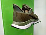 Мужские кроссовки в стиле Zoom Pegasus 35 Turbo Green, размеры с  41 по 45, фото 3