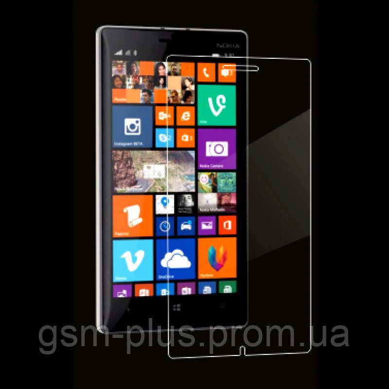 Защитное стекло (броня) для Nokia 540 Lumia (0.3 mm, 2.5D / RM-1141)