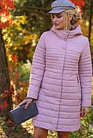 Молодежное стеганное пальто, фото 1