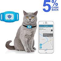 GPS ошейник для кошек MYOX MPT-03CU (голубой)