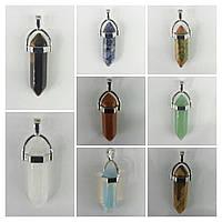 Кулоны Кристаллы под натуральный камень. Бижутерия оптом RRR. 234