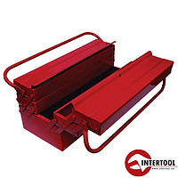 Ящик для инструментов металлический INTERTOOL  450мм, 5 секций HT-5045