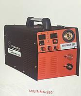 Сварочный инверторный полуавтомат Гладиатор MIG/MAG/MMA 280